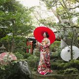 舞子ホテルには和装が似合うフォトスポットが多数 ご結婚式を挙げられるカップル様だけ特別にご利用いただけます