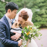 ふたりの愛犬に参加してもらう結婚式はいかがですか? 大切な一日は 大切な家族と一緒に