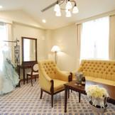 ホテルならではのブライズルームや、控室も充実。