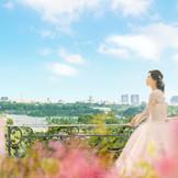 皇居を見渡す景観