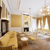 豪華な装飾のゲストのウェイティングルーム