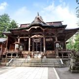悠久山蒼柴神社での挙式も