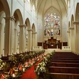 落ち着いた雰囲気が漂う正統派の大聖堂