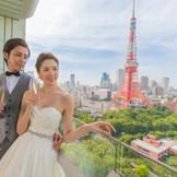 芝公園と東京タワーに囲まれた大人のウエディング