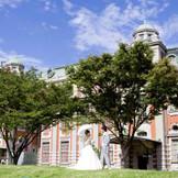 大阪市中央公会堂は大正時代のネオ・ルネッサンス様式の歴史的建築物として大阪市に勇壮