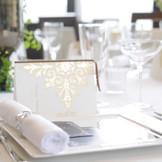 ゲストテーブルを大切にする!  レストランウエディングでの楽しいひと時がはじまる