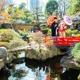 東京芝 とうふ屋うかい自慢の日本庭園