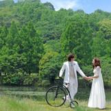 一日たりとも同じ景色はない・・・それもリゾートウエディングならでは! 四季折々の美しさの中でのウエディングを満喫しよう!