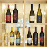 ソムリエが厳選したワインが料理の味をより一層深めてゆく