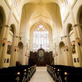 世界遺産をモチーフに造られた本格大聖堂