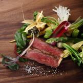 和牛肉のシンプルロースト