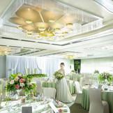 「真珠」 30名~70名様  光に満ち溢れた空間で、ゲストとのプライベートパーティー