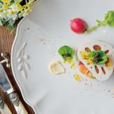 味はもちろん、見た目やカトラリーにもこだわったお料理でゲストをおもてなし♪