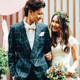 '結婚式をもっと楽しく!HAPPYに!'おふたりの大好きがギュッと詰まったスタイルをカタチに。