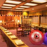 重厚感と落ち着きのある神殿。佐賀県で唯一、本格的な神前式を行うことが出来る。