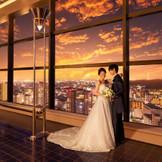 夕焼けをバックに、美しい写真を収められるのもソラノワの魅力