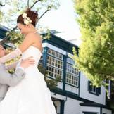 北野坂、異人館通りで挙式後にロケ撮影も可能!