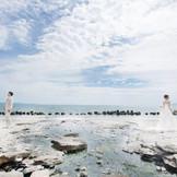 イマジンホテル&リゾート函館なら浜辺での撮影も可