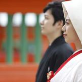 親御様にも好評の和婚 白無垢姿は日本女性の美しさを引き出す