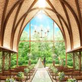 2019年3月グランドリニューアル 木・緑・光をコンセプトにした森のチャペル 暖森【NUKUMORI】誕生 岐阜県の伝統素材を生かした木漏れ日を感じる空間に!
