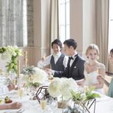 ご家族・ご親族の少人数婚にも対応♪ 専用の会場も完備しております。