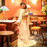 クラシカルな雰囲気の館内は和装もピッタリ!