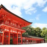 世界遺産「下鴨神社」での挙式が人気!