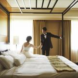 他にはないホテルウエディング。ゆっくりとした時間をお過ごしいただけます。