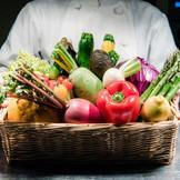 信州のおいしい野菜が主役です。  素材が良いから 余計なものを足す必要はありません。