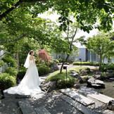 心が和やかになる和庭園のおもてなし(イメージ)