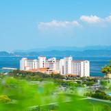 海辺に佇む南欧風リゾートホテル!