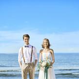 海まで30秒の立地を活かしたロケーション前撮りもオススメ!「海外で結婚式したの?!」と驚かれる写真を思い出に♪