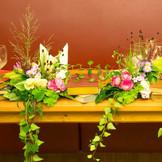 お選びになるお花のお色や種類によって、お部屋の雰囲気はガラリと変わります♪