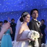 星空チャペルで素敵な結婚式を♪