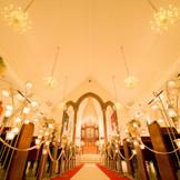 宝物になる一日は、このチャペルから・・・ 『結婚式』という名の、忘れられない家族記念日。