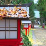 四百余年もの長い歴史と趣をもつ「大館神明社」では、古式ゆかしい神前式が執り行われます。