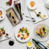 全国・世界各地の珍しい高品質な食材と一流シェフが奏でる美食でゲストをおもてなし
