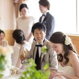 【少人数WEDDING】 お食事中心の披露パーティーもお任せください。自慢のお料理とアットホームな空間で最高の一日を。