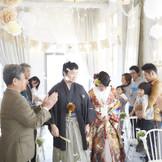 家族で祝う、あたたかい結婚式。