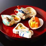 旬の食材を生かし、拘り、 伝統の技法を守り抜いたおもてなしの一品。