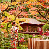 神戸市名勝庭園での前撮りが人気