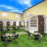 ガーデンウエディングが叶う【リニューアル】 ガーデンパーティにもピッタリ☆ カクテルバーやスイーツブッフェ♪ゲストと楽しめるホームパーティを素敵に演出してくれる♪