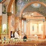 まるでヨーロッパの教会を訪れたような感動が!趣のあるサレジオ教会。
