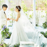 いつまでも記憶に残る瞬間の為に、花嫁を一層美しく魅せる特別なゲストハウス