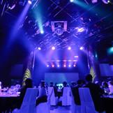 まるでコンサートのような迫力の演出は、 本格的な音響・照明設備を要する「メインホール:ザナドゥ」ならでは。