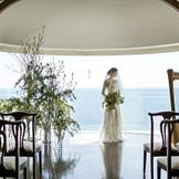 別邸ゲストハウス フレアージュ葉山室内にある「木と海の教会」