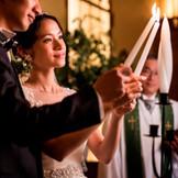 ~ユニティキャンドル~ 新郎新婦のおふたりと、ご両家が「ひとつ」となることを意味するセレモニー。 挙式も意味のある時間に・・☆