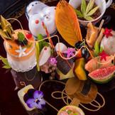目で楽しむ「金澤フレンチ」 少人数のレストランだからこそできる、 彩りに究極にこだわったコース!