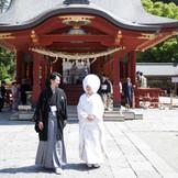 鶴岡八幡宮での神前式