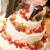 オリジナルケーキも専属のパティシェにお任せください!!